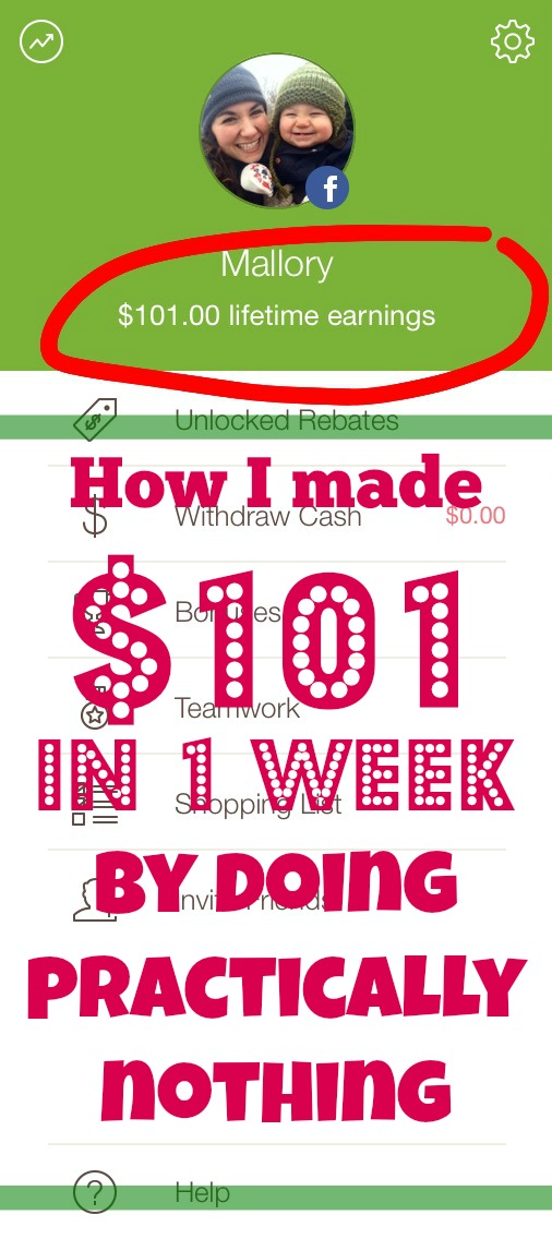How I made $101 in 1 week by doing practically nothing! SUPER easy way to earn cash by making the most out of an app.
